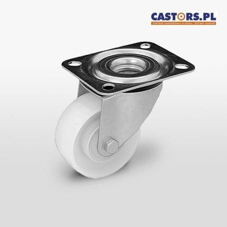 Swivel castor KPE-POB 100K1 Polyamide wheel. Load capacity 150 kg / 100mm/ kulkowe